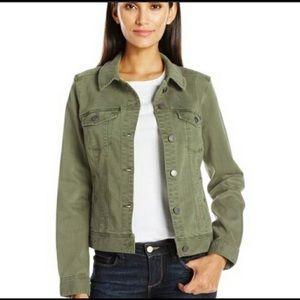 Liverpool Jeans Company Denim Jacket Stitch Fox